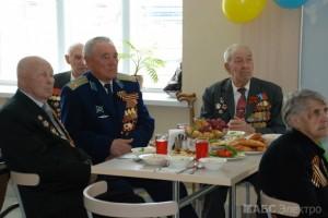 Группа компаний «АБС Электро» поздравила ветеранов с 69-ой годовщиной со Дня Победы(1)