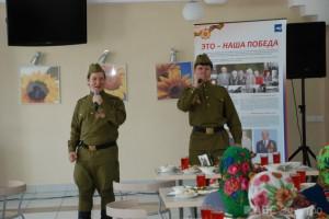 Группа компаний «АБС Электро» поздравила ветеранов с 69-ой годовщиной со Дня Победы(3)