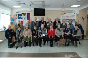 Группа компаний «АБС Электро» поздравила ветеранов с 69-ой годовщиной со Дня Победы(5)