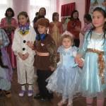 Поздравление с Новым годом воспитанников Кугесьской специальной (коррекционной) общеобразовательной школы-интерната — 2010