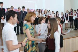 Фонд «АБС Электро» поздравил лучших учеников гимназии №5